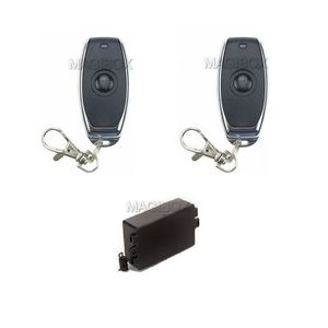 Image 4 - Remote Control 100lbs Embedded Magnetic Lock Mini 60KG Electromagnetic Lock + Remote Control + 12V Power Supply
