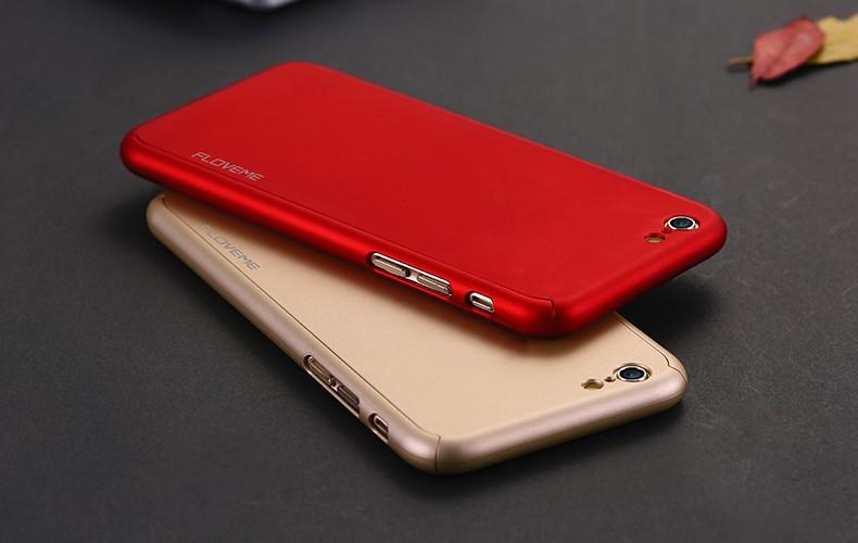 Floveme 6 s 7 plus armor screen protector 360 stopni case dla iphone 7 6 6 s dla iphone 6 6s 7 plus full chroń odporny na wstrząsy pokrywa 18