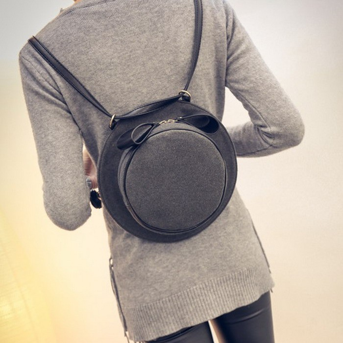 Cute Bow Shoulder Creative Girl Hat Cross Bag 2