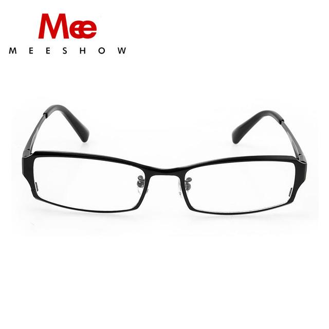 Vidrios ópticos borde completo de alta calidad 100% pure titanium hombres marco óptico titanium anteojos envío libre