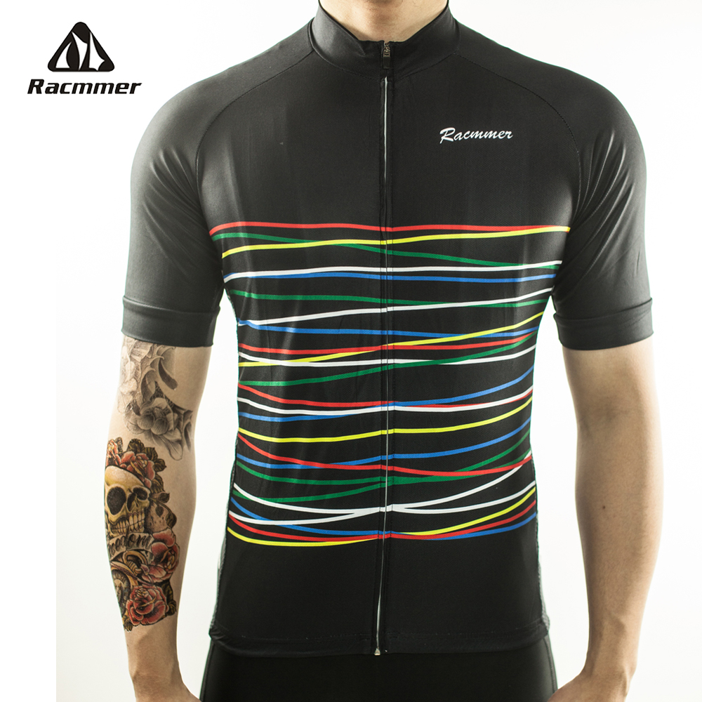 Racmmer 2018 Cycling Jersey Mtb Bicycle Clothing Bike Wear Clothes Short Kit Maillot Roupa Ropa De Ciclismo Hombre Verano #DX-08 racmmer 2018 pro team cycling jersey fit mtb bicycle clothing bike wear clothes short maillot bicicleta roupa ropa de ciclismo