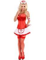 MOONIGHT Sexy Nurse Costume Erotic Costumes Role Play Women Erotic Lingerie Female Sexy Underwear Red Cross