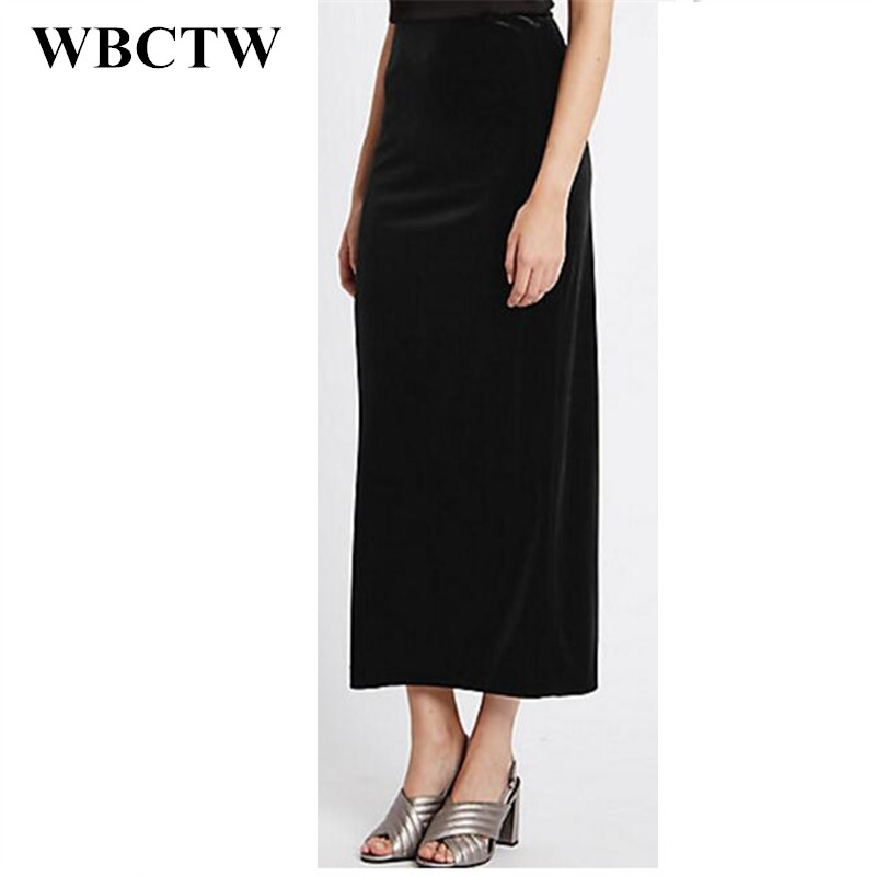 Online Buy Wholesale long straight black skirt from China long ...