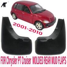 MUDGUARDS APTO PARA Chrysler PT Cruiser 2001-2010 TRASEIRAS MUDFLAPS MUD MOLDADO FLAP SPLASH GUARD FENDER ACESSÓRIOS