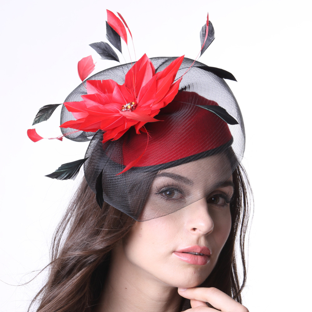 free shipping women fascinator