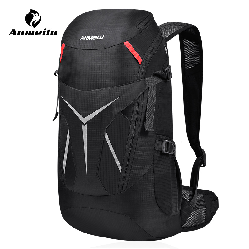 Anmeilu 20L Outdoor Camping Rucksack Waterproof Foldable Hiking Backpacks Rain Cover Sports Climbing Bag Cycling Travel Backpack