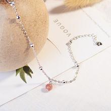Женская мода простые Красивые 925 пробы Серебряные ювелирные