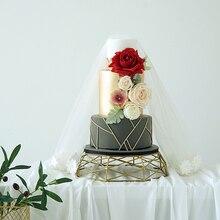 Имитация китайского свадебного торта выпечки витрина магазина имитация многослойного помадки торт свадебный реквизит Окно Дисплей