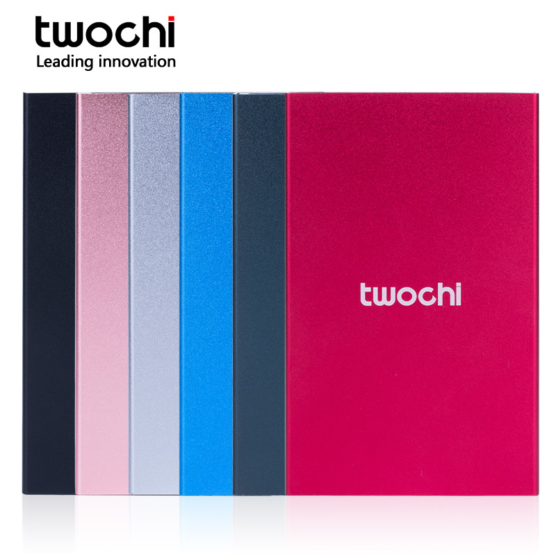 TWOCHI 2.5 USB3.0 HDD 80GB 120GB 160GB 250GB 320GB 500GB 750GB 1TB 2TB Storage External Hard Drive Disk for PC/Mac PS4 XBOX