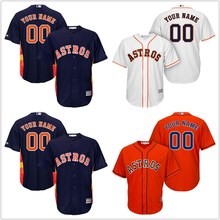 104a3df46 ... Mens Houston Astros Orange Cool Base Custom Jersey(China) ...
