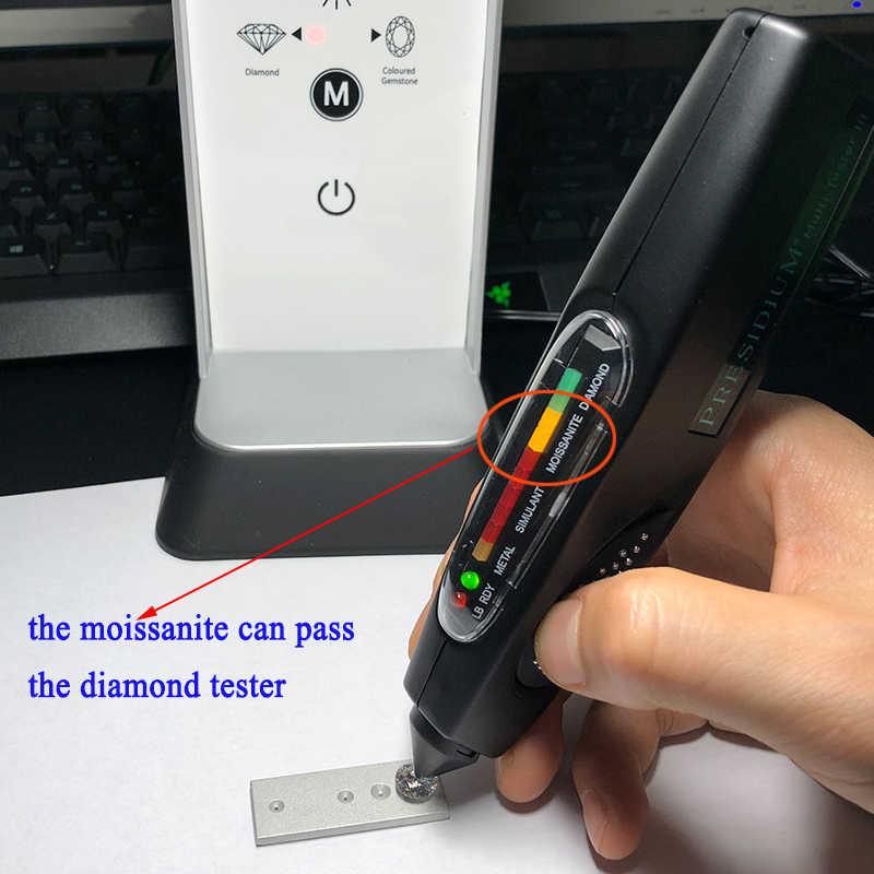 Df cor branca 0.9mm a 2.9mm tamanho pequeno, sintético moissanite forma redonda pedra solta feita por sic