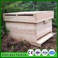 Madeira do abeto única camada colméia Langstroth para apicultura/colméias de abelhas de madeira