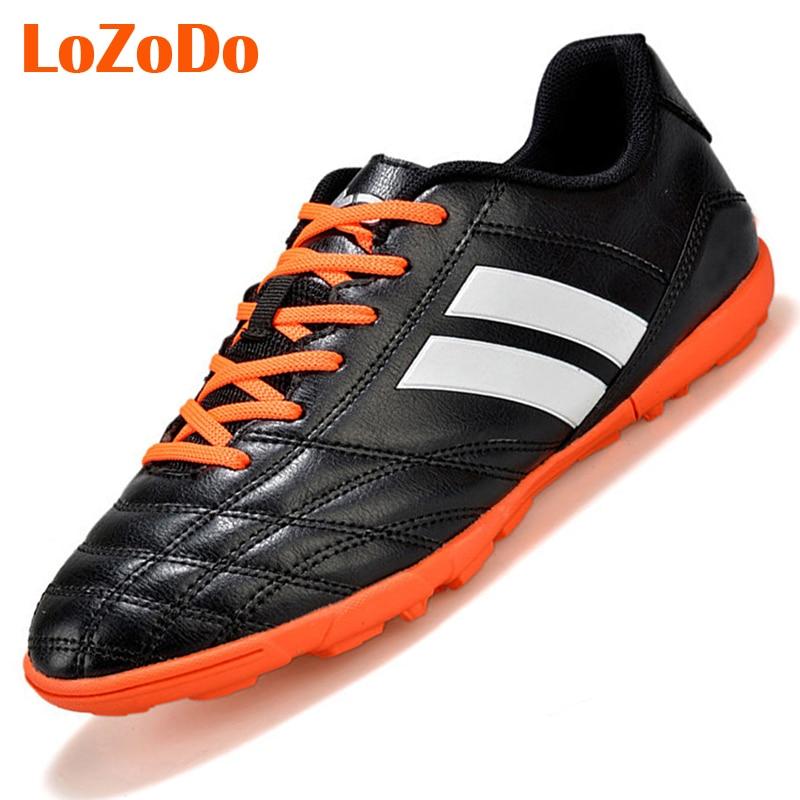 Plus Size 39 45 Cheap Men Soccer Shoes Adults TF Football ...