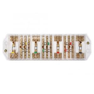 Conectores FJ6/PJ1L трехфазный провод бытовой измеритель клеммный ряд Электрический корпус распределительная коробка rca разъем скидка