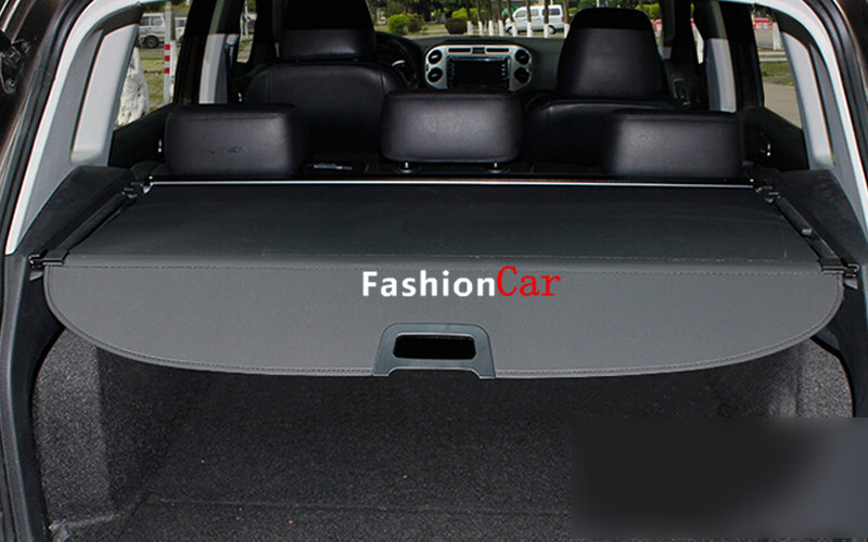 Rear Trunk Security Shield Cargo Cover For Volkswagon VW Tiguan 2009 10 11 12 13 14 2015 car rear trunk security shield shade cargo cover for volkswagen vw tiguan 2009 2010 2011 2012 2013 2014 2015 2016 black beige