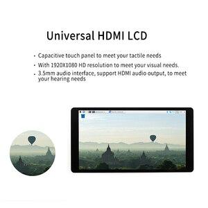 Image 3 - פטל Pi 4 LCD AMOLED 5.5 אינץ 1080P 5 אינץ HDMI קיבולי 1920*1080 מסך מגע מודול עבור פטל Pi 3B + 2B +
