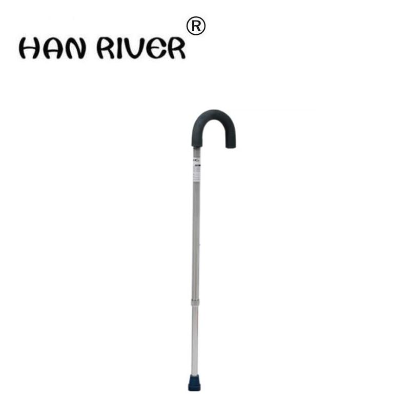 HANRIVER 2018 Canna ascellare stampella vecchio bastone da passeggio canna telescopica canna help line dispositivo per i disabili