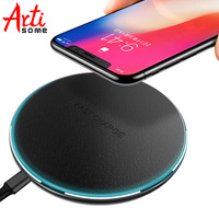 Artisome Wireless Charger For Samsung Galaxy S8 S8 Plus S6 S7 Edge Note 5 Wireless Charging