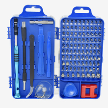 цена на 108 in 1 Set Precision Magnetic Screwdriver Bit Torx Set Multi-function Screw Driver tournevis Hand Screwdriver Set Repair Tools