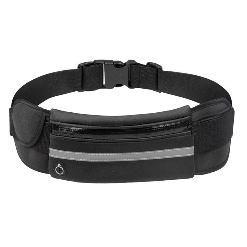 Fashion Mini Fanny Pack For Women Men Portable Convenient USB Waist Pack Travel Multifunctional Waterproof Phone Belt Bag 192