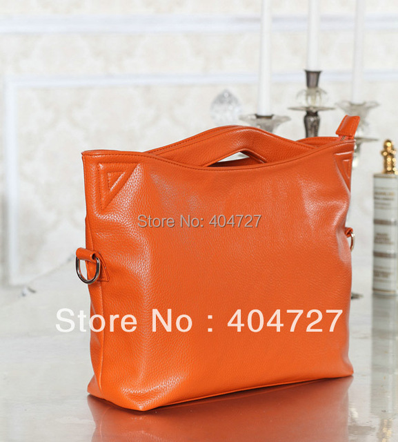 Fashionable Casual Genuine Leather Women's Shoulder Bag  Tote Handbag Retro Bag  Free Shipping