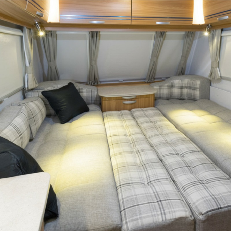 YORKING 2x LED Spot Reading Light Interior Lamp Switch for Camper Caravan Boat Motorhome