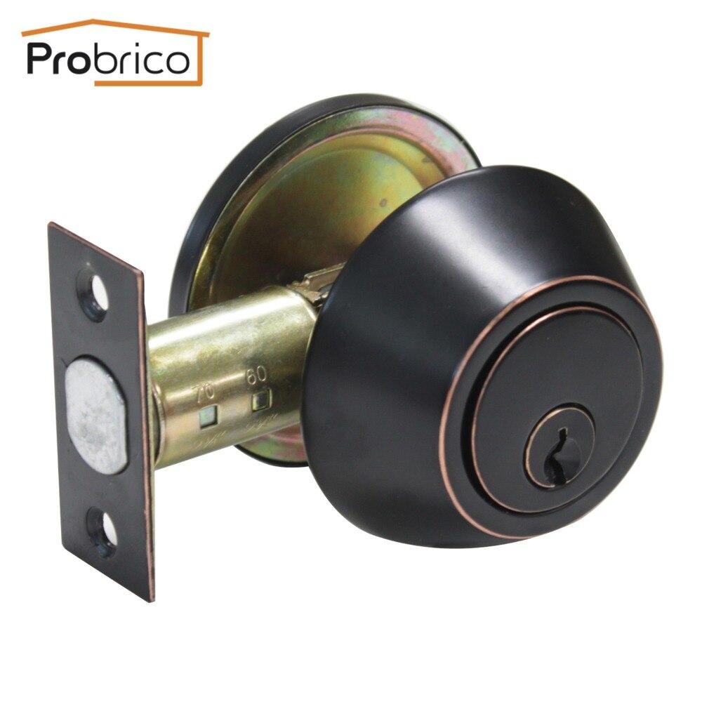 Probrico Keyed Alike Door Lock Stainless Steel Security Safe Lock ...