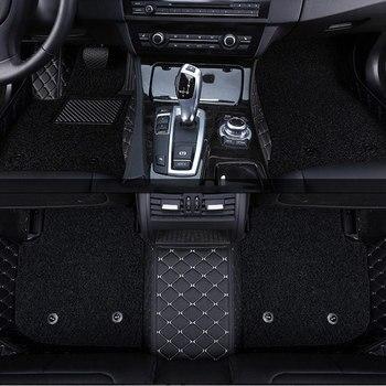 car floor mat carpet rug ground mats for mitsubishi asx outlander 3 xl 2018 2017 2016 2015 2014 2013 Alfa remeo Giulia Stelvio