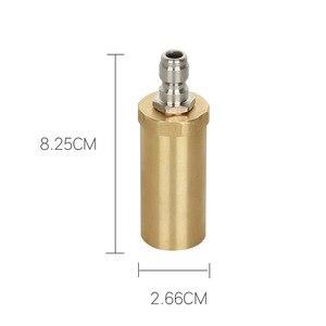Image 2 - High pressure pure copper rotary nozzle 3600PSI domestic 360 degree ceramic spool wash nozzle