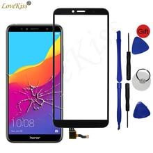 Передняя панель 5,7 дюйма для Huawei Honor 7C, сенсорный ЖК дисплей с дигитайзером и стеклянной крышкой для Huawei Honor 7C, для Honor 7A Pro, сенсорное стекло, для ремонта с помощью сенсорного ЖК дисплея