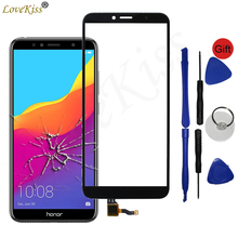 """5.7 """"Panel przedni dla Huawei Honor 7C AUM L41 AUM L29 Honor 7A Pro czujnik ekranu dotykowego wyświetlacz LCD szkło Digitizer pokrywa naprawa"""