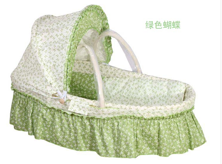 Portable Baby Bassinetnewborn Travel Basket For Mother100 Cotton