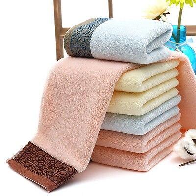 luxury cotton towels soft absorbent bath sheet hand bathroom face hand towelschina