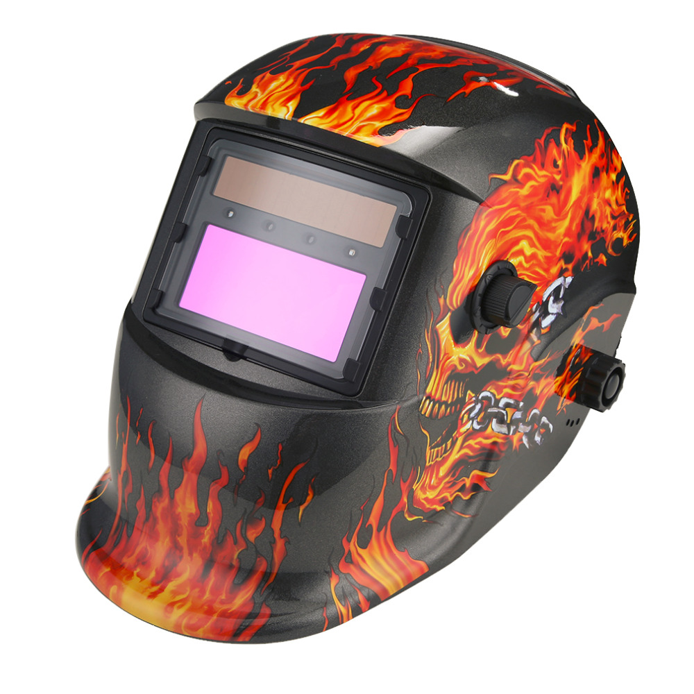 Solar Power Auto Darkening Welding Helmet Arc Tig Mig Professional Welder Mask for Soldering Iron Station цена и фото