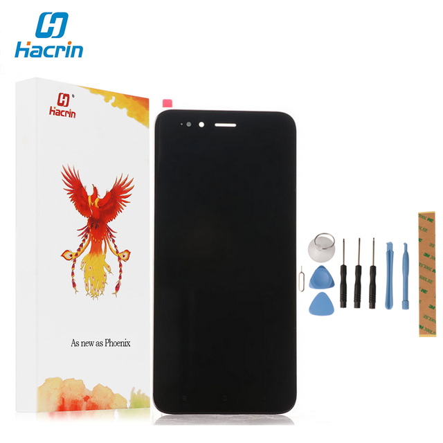 Hacrin For Xiaomi Mi5X LCD Display+Touch Screen 100% New High Quality Digitizer Screen Glass Panel For Xiaomi MiA1 Mi A1