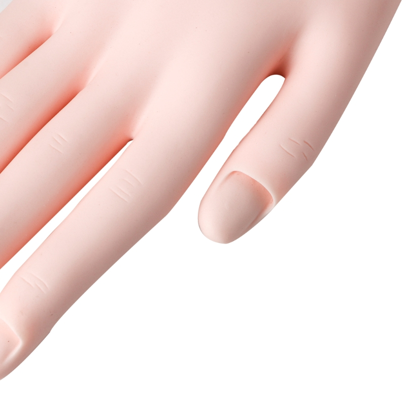 New Practice Right Hand Model for Nail Art Training Display Manicure ...