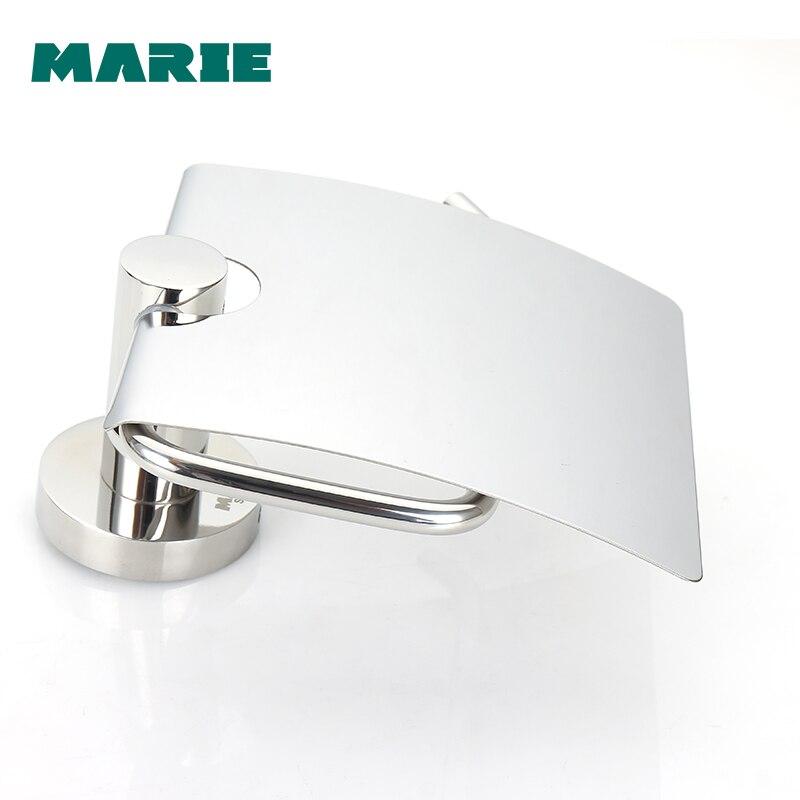 Support de papier hygiénique en acier inoxydable Montage Mural Toilette porte-papier de soie Salle De Bain porte-rouleau de papier