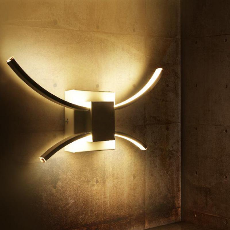 Moderne Led Wandleuchte Badezimmer Beleuchtung Spiegel Nordic