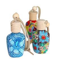 Wiszące butelki aromaterapii pudełka powiesić powietrza w domu orzeźwiający OLEJEK ETERYCZNY pudełka samochodu odświeżania powietrza pudełka tanie tanio Maskotka CHINA Szkło Ethnic Style