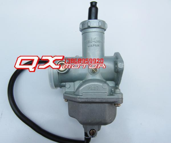 ФОТО motorcycle parts carburetor modification carburetor PZ27 hand throttle