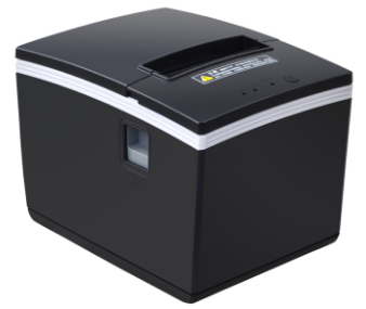 brand new 80mm receipt bill POS Thermal printer USB Ethernet Serial Three ports are integrated in one printer Automatic Cutting image