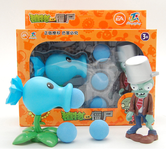 New Toys! Plants Zombies model Vinyl figures Plants vs Zombies action toys game play toys for Children