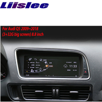 Liislee For Audi Q5 2009~2018 touch screen GPS Navigation radio stereo dash multimedia player support Carplay