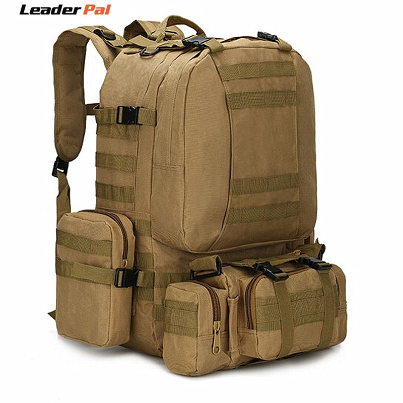 3P Big Bag Molle Equipment Tactics Bag backpack 50L Large Capacity Assault Travel Military Backpacks Rucksacks Army Bag Pack baigio men backpack military molle assault backpack 3 way modular attachments 50l waterproof bag rucksack male travel bags