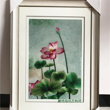 Suzhou embroidery finished product pure hand-embroidered 2-4 silk  Boutique living room painting