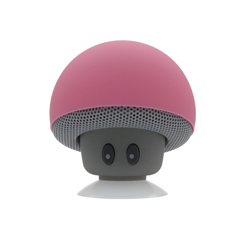 Mini Wireless Bluetooth Speaker Portable Mushroom Waterproof Stereo Bluetooth Speaker With Mic for Mobile Phone Computer