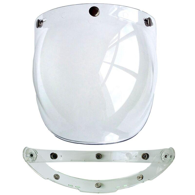 (1pc & 5colors) 100% Originele Motorhelm Vizier Shield Retro Hallar - Motoraccessoires en onderdelen - Foto 6