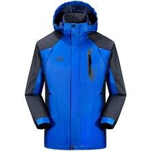 2016 New Outdoor Jacket Brand Hiking Jacket Softshell Jacket Men Windproof Waterproof Coldproof Thermal Hiking Camping
