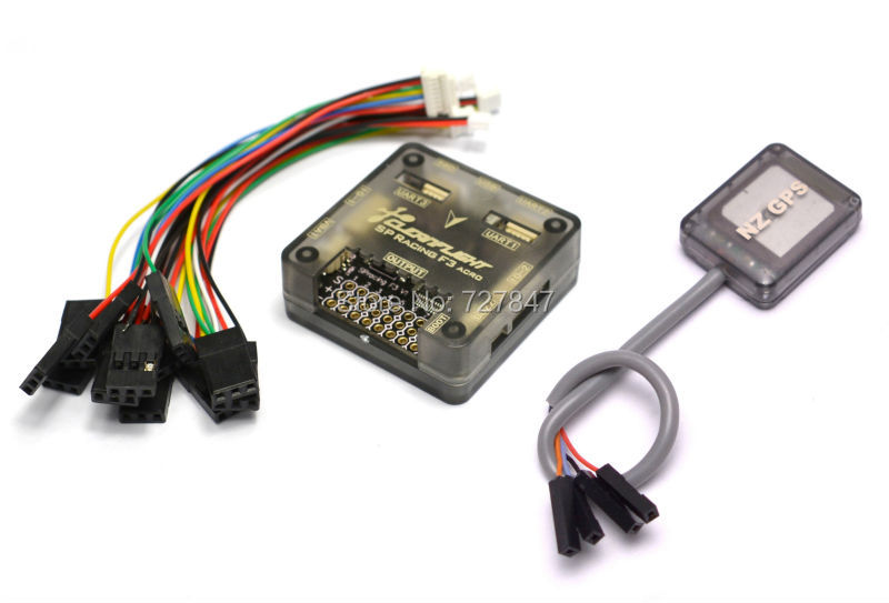 Ublox 7 Series Mini GPS NZ + F3 Flight Control SP Pro Racing F3 Flight Controller-Cleanflight perfect for  Mini 250 210 Frame
