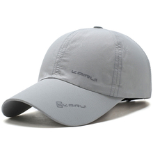 SuperB&G New Summer Baseball Cap Men Women Quick Drying Baseball Hats Unisex Breathable Sport Cap Pure Color Snapback Hat bone